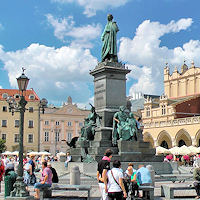 Krakow: Main Market Square & Old Town